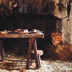 Medieval kitchen table image for Kira Catanzaro