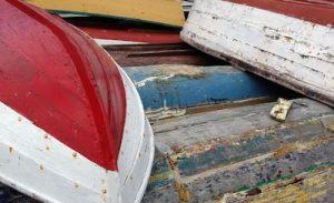 Stackedboathulls-Lunenburg